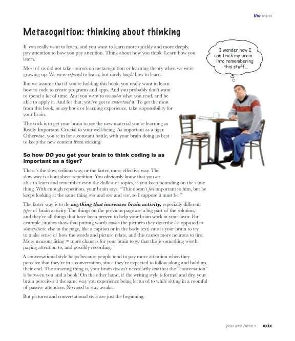 Metacognition: thinking about thinking   Page 6