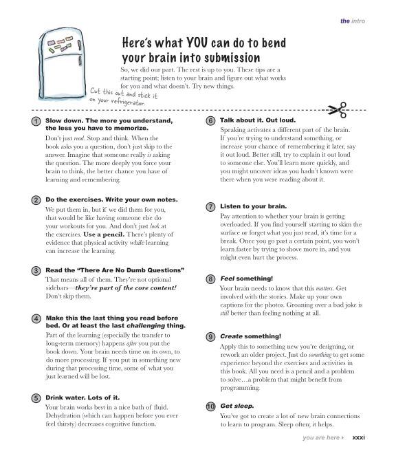 Here's what YOU can do to bend your brain into submission   Page 8