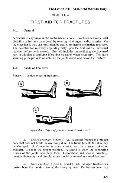 CHAPTER 4 FIRST AID FOR FRACTURES | Page 8