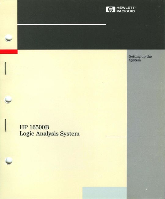 16500-90923_16500B_Logic_Analysis_System_Setting_Up_the_System_May93