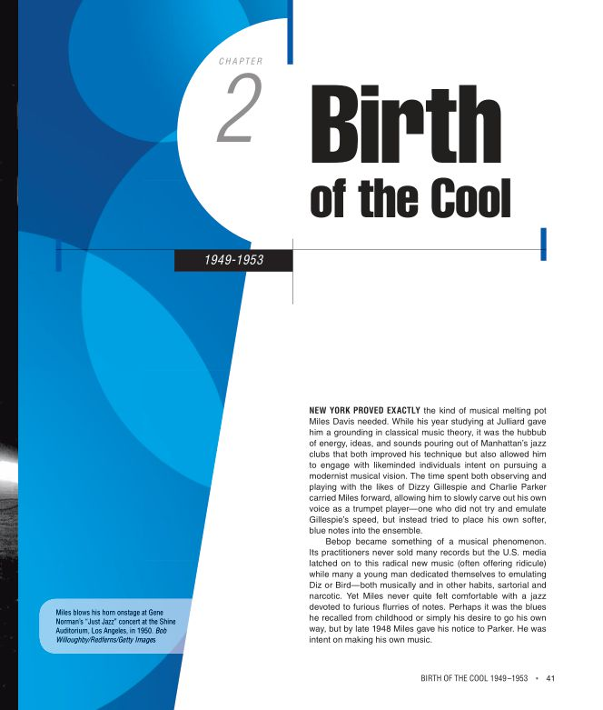 CHAPTER 2 BIRTH OF THE COOL 1949–1953   Page 6