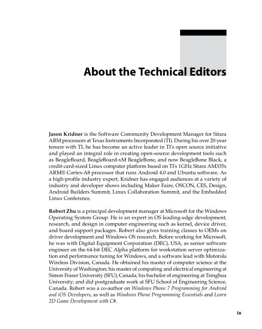About the Technical Editors | Page 2