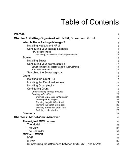 Table of Contents | Page 6