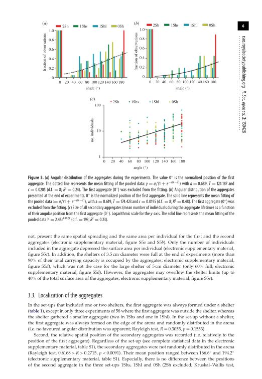Localization of the aggregates   Page 7