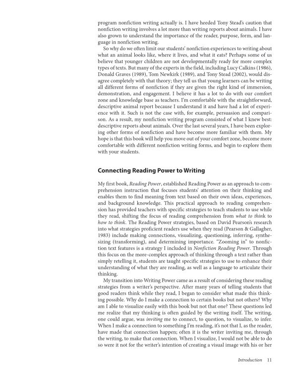 Connecting Reading Power and Writing | Page 5
