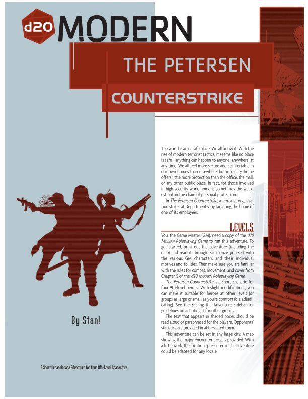 THE PETERSON COUNTERSTRIKE