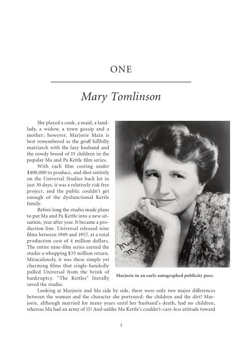 One. Mary Tomlinson   Page 4