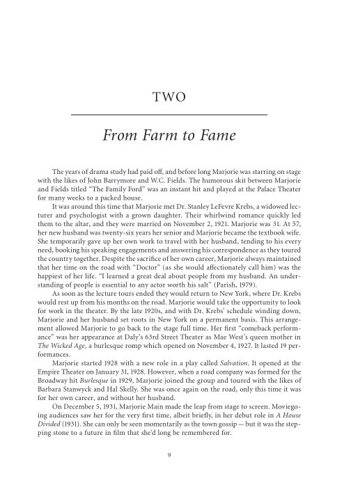 Two. From Farm to Fame   Page 5