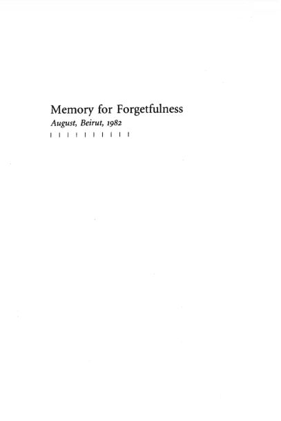 Memory for Forgetfulness | Page 8