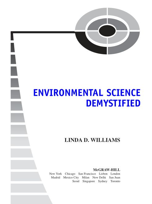 Williams - Environmental Science Demystified (McGraw, 2005)