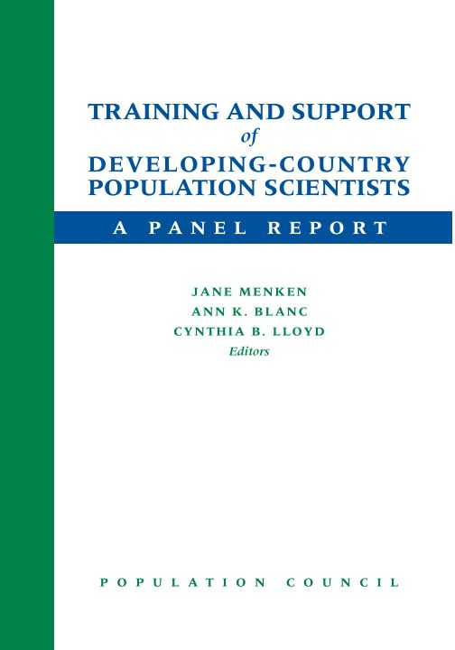 Training and Support of Developing-country Population Scientists - A Panel Report