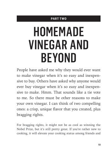 Part Two: Homemade Vinegar and Beyond   Page 8