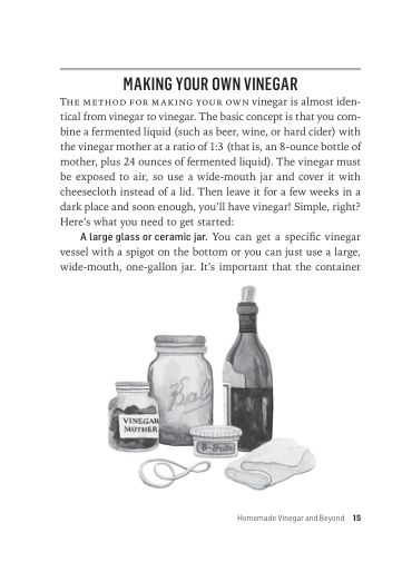 Making Your Own Vinegar   Page 9
