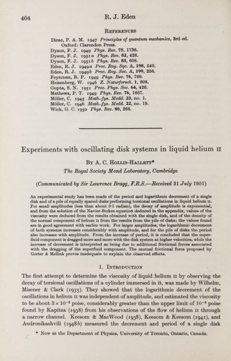Experiments with oscillating disk systems in liquid helium II