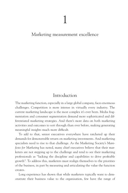 1: Marketing measurement excellence | Page 6
