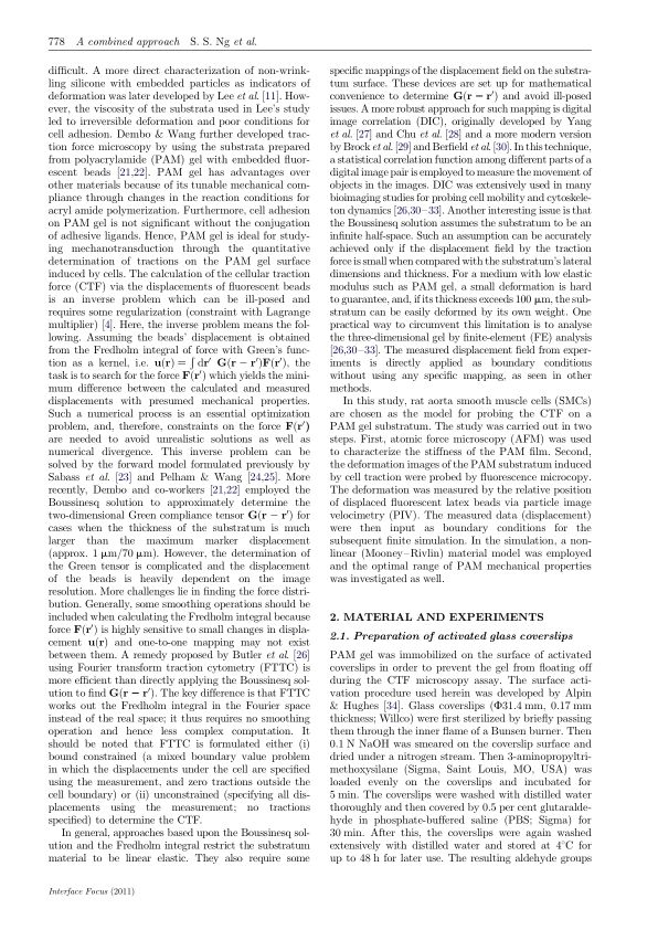 Material and experiments   Page 0