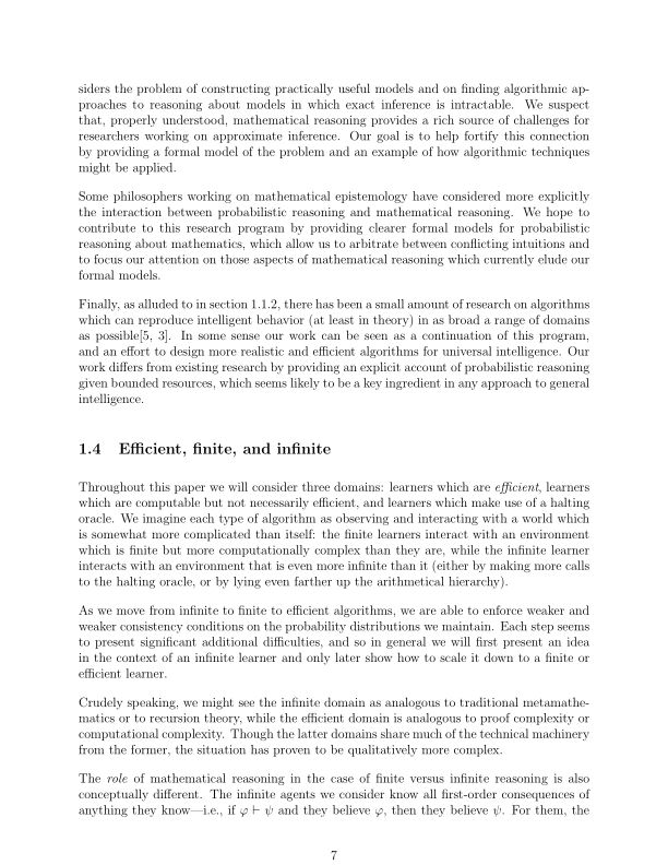 Efficient, finite, and infinite   Page 6