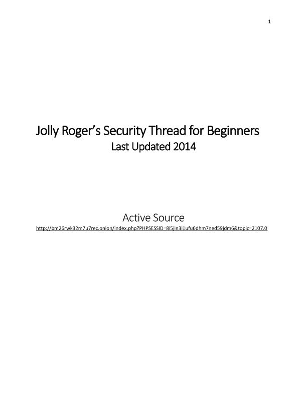Jolly_Roger_s_Security_Thread_for_Beginners