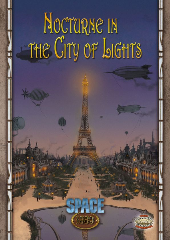 Savage Worlds - Space 1889 - Nocturne in the City of Lights