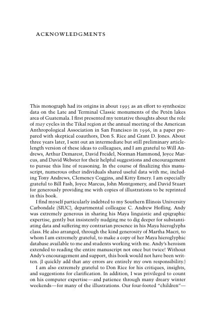 Acknowledgments   Page 4