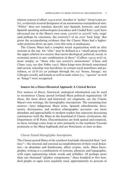 Sources for a Direct-Historical Approach: A Critical Review   Page 7