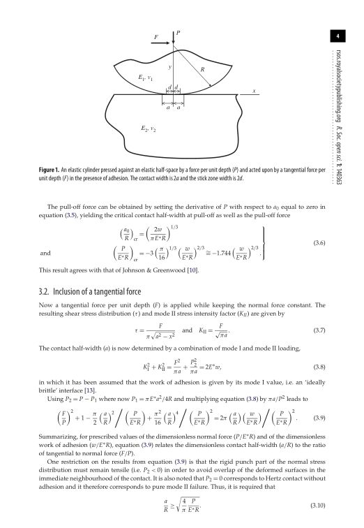 Inclusion of a tangential force | Page 2