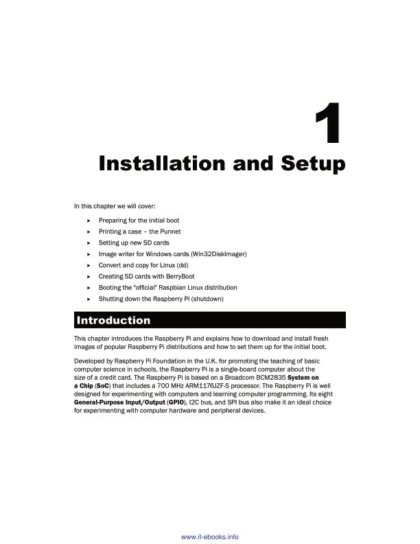 Chapter 1: Installation and Setup | Page 7