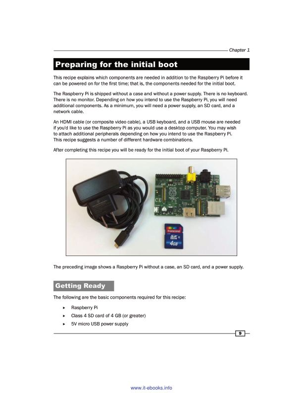 Preparing for the initial boot | Page 9