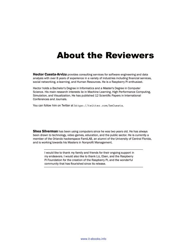 About the Reviewers | Page 3