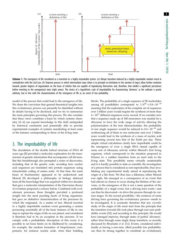 The improbability of life | Page 0