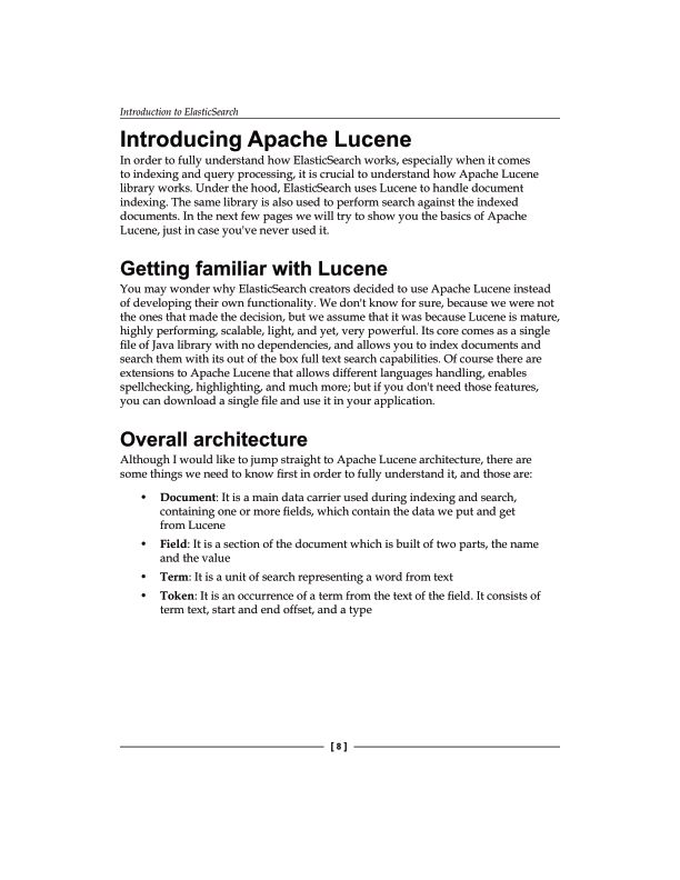Introducing Apache Lucene   Page 8