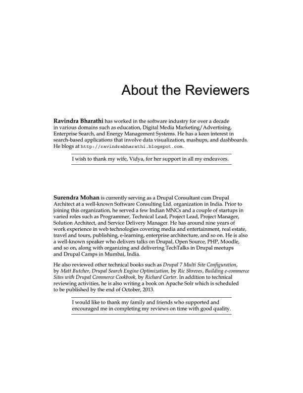 About the Reviewers   Page 3