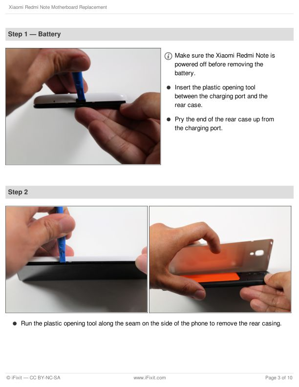 Step 1 — Battery | Page 2