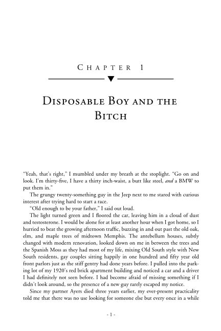 Disposable Boy and the Bitch | Page 1