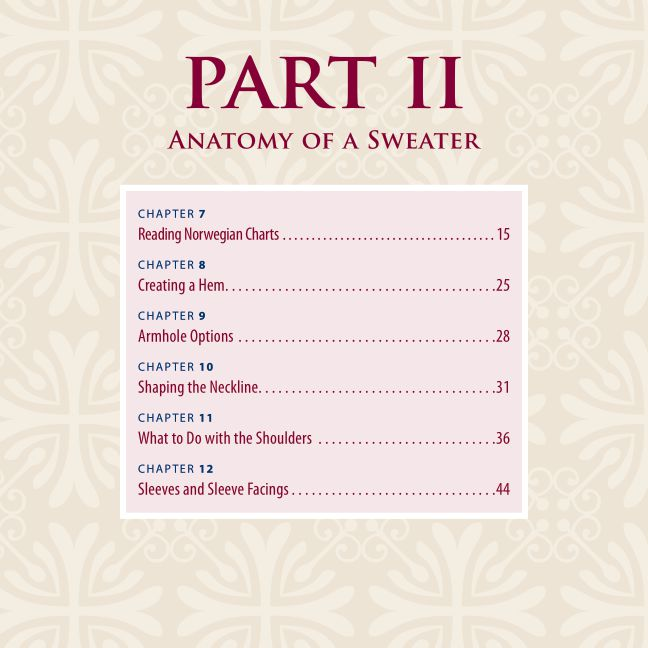 Part II: Anatomy of a Sweater | Page 10