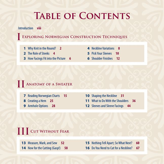 Table of Contents | Page 1