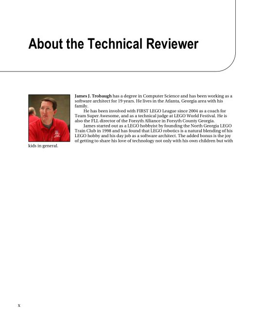 About the Technical Reviewer | Page 5