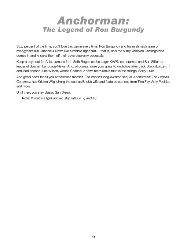 Anchorman: The Legend of Ron Burgundy  | Page 2