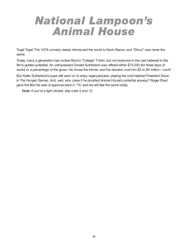 National Lampoon's Animal House  | Page 3