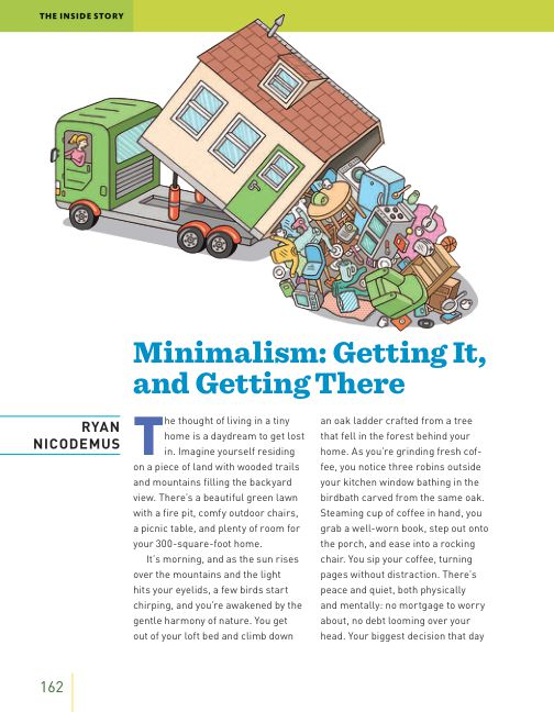 The Inside Story: Minimalism: Getting It, and Getting There By Ryan Nicodemus | Page 9