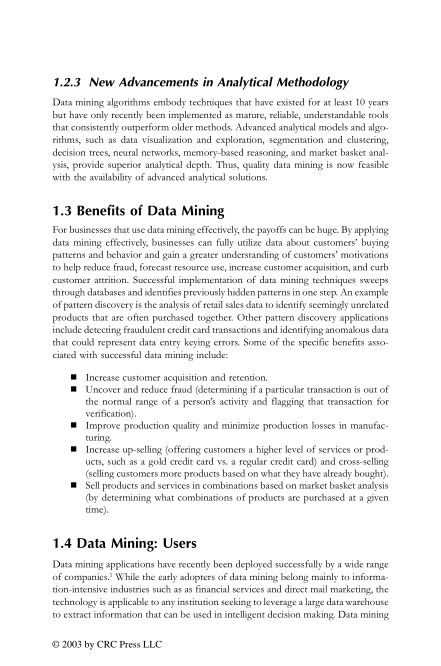 1.2.3 New Advancements in Analytical Methodology | Page 3