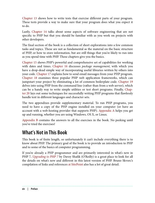 What's Not in This Book | Page 5