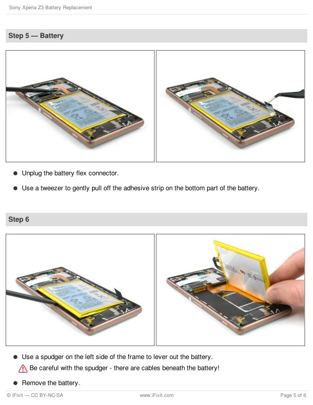 Step 5 — Battery | Page 6