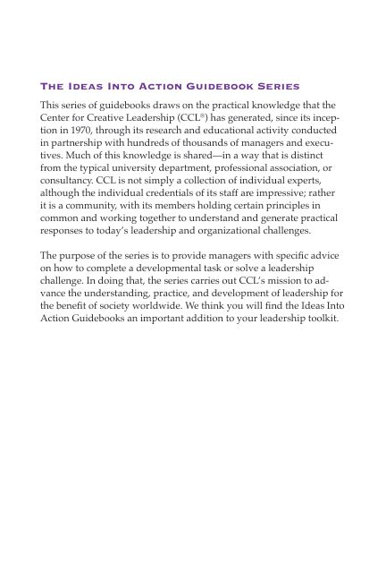 The Ideas Into Action Guidebook Series   Page 3