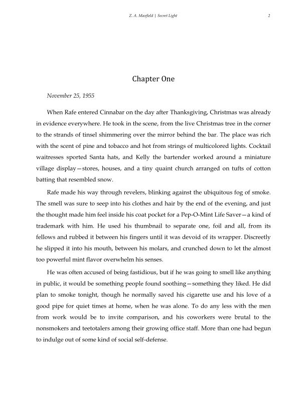 Chapter One | Page 1