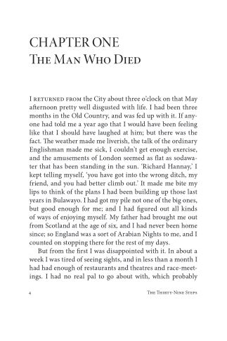 CHAPTER ONE The Man Who Died | Page 1