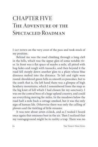 CHAPTER FIVE The Adventure of the Spectacled Roadman | Page 5