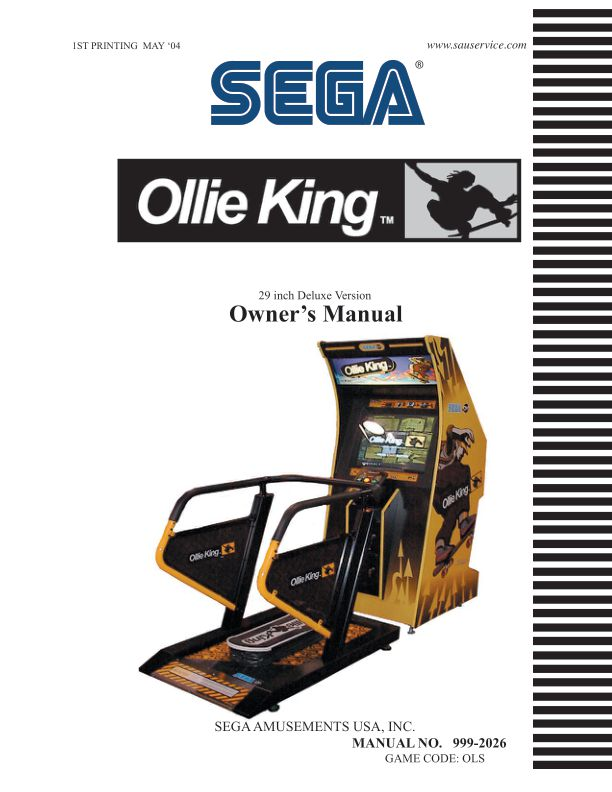 Ollie King - Arcade - Manual - gamesdatabase.org