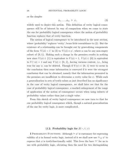 1.2 Probability logic for S(¬,Λ,V) | Page 6