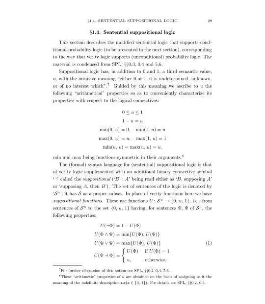 1.4 Sentential suppositional logic | Page 8